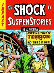 Picture of EC Archives Shock Suspenstories Vol 03 HC