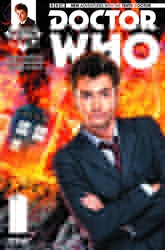 Picture of Doctor Who 10th Doctor #11 Subscription Cover