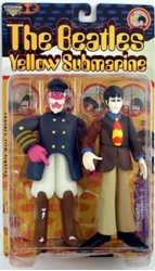 Picture of The Beatles Yellow Submarine Paul with Captain Fred