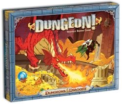 Picture of Dungeons and Dragons Dungeon! Fantasy Board Game