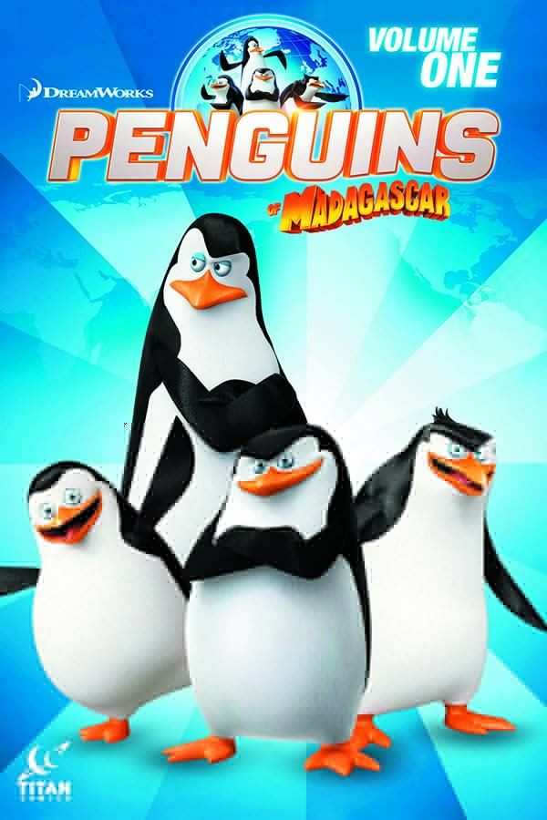 Bedrock City Comic Company Penguins Of Madagascar 2014 Vol 01 Sc When In Rome
