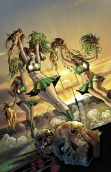 Picture of Zombies vs Cheerleaders 2015 St Patty's Special Qualano Cover
