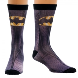Picture of Batman Character Sublimated Crew Sock