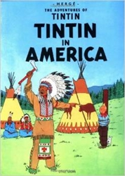 Picture of Adventures of Tintin Tintin in America SC
