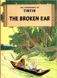 Picture of Adventures of Tintin Broken Ear GN