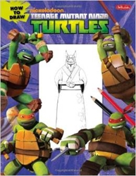 Picture of Nickelodeon How to Draw Teenage Mutant Ninja Turtles SC