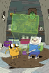 Picture of Adventure Time Vol 05 SC Graybles Schmaybles