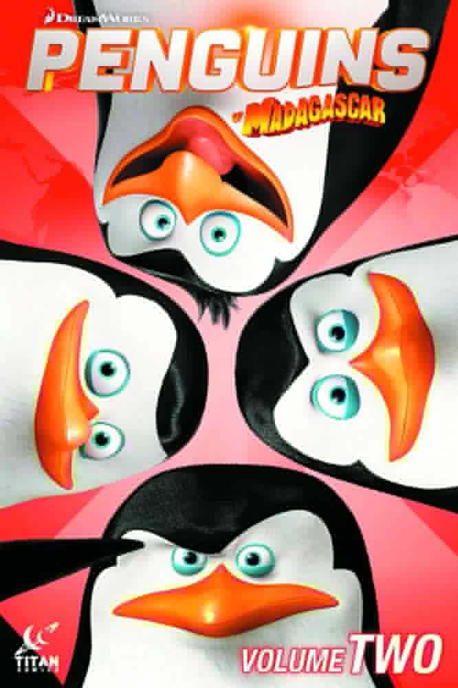 Bedrock City Comic Company Penguins Of Madagascar 2014 Vol 02 Sc