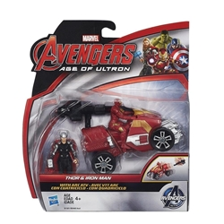 "Picture of Thor and Iron Man Avengers Age of Ultron Deluxe 2.5"" Figure 2-Pack"