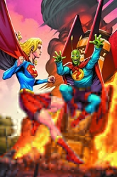 Picture of Convergence Supergirl Matrix #2