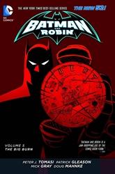 Picture of Batman and Robin (2011) Vol 05 SC Big Burn