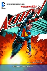 Picture of Action Comics (2011) Vol 05 SC What Lies Beneath
