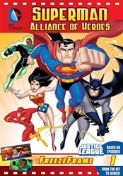 Picture of Justice League Unlimited Freeze Frame Superman Alliance of Heroes