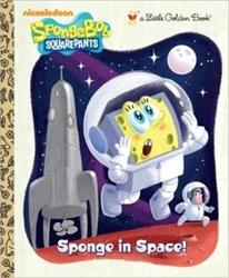 Picture of SpongeBob SquarePants Sponge in Space Little Golden Book