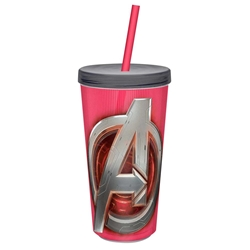 Picture of Avengers Symbol Age of Ultron 16oz Insulated Cup with Straw