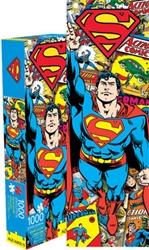 Picture of Superman Retro 1000 Piece Slim Puzzle