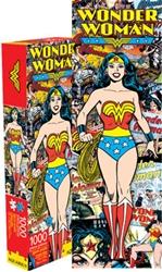 Picture of Wonder Woman Retro 1000 Piece Slim Puzzle