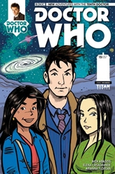Picture of Doctor Who 10th Doctor #15 Abadzis Cover