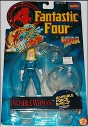 Picture of Fantastic Four Invisible Woman with Invisible Force Shield Action Figure