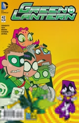 Picture of Green Lantern (2011) #42 Teen Titans Go Cover