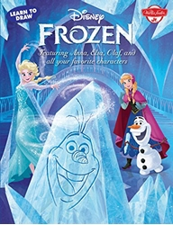 Picture of Disney Frozen Learn to Draw