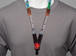 Picture of Minecraft Lanyard