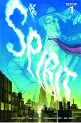 Picture of Will Eisner's Spirit #1 Subscription Cover