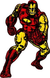 Picture of Marvel Comics Retro Iron Man Patch