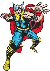 Picture of Marvel Comics Retro Thor Patch