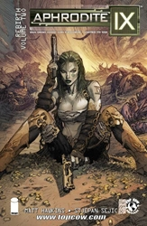 Picture of Aphrodite IX (2013) TP VOL 02 Rebirth Volume 2 SDCC Cover