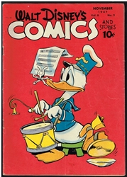 Picture of Walt Disney's Comics and Stories #86
