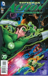 Picture of Action Comics (2011) #44 Green Lantern 75th Anniversary Cover