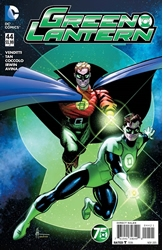 Picture of Green Lantern (2011) #44 Green Lantern 75th Anniversary Cover
