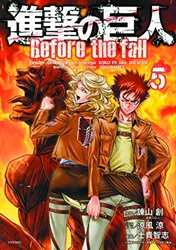 Picture of Attack on Titan Before the Fall Vol 05 SC