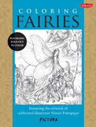 Picture of Coloring Fairies