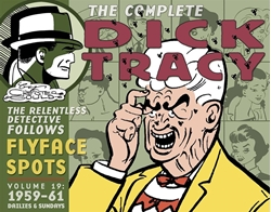 Picture of Complete Dick Tracy Vol 19 HC 1959-61