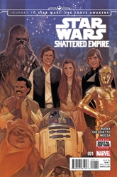Picture of Journey to Star Wars Force Awakens Shattered Empire #1