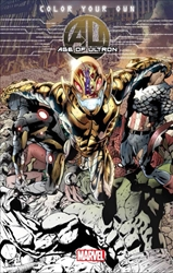 Picture of Age of Ultron Coloring Book TP