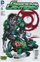 Picture of Green Lantern (2011) #45 Monsters Cover