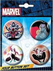 Picture of Marvel Spider-Verse Button Set