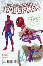 Picture of Amazing Spider-Man (2015) #1 Ross Design Cover