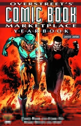 Picture of Overstreet's Comic Book Marketplace Yearbook 2015-16 Valiant Cover
