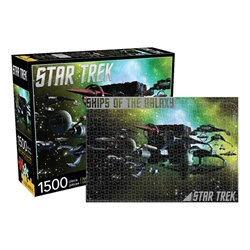 Picture of Star Trek Ships of the Galaxy 1,500-Piece Puzzle