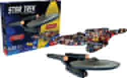 Picture of Star Trek Enterprise and Collage Double-Sided Puzzle