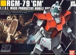 Picture of Gundam RGM-79 GM HGUC Model Kit