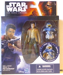 "Picture of Star Wars Force Awakens Poe Dameron Armor 3.75"" Action Figure"