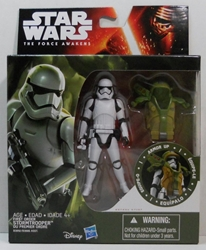 "Picture of Star Wars Force Awakens First Order Stormtrooper Armor 3.75"" Action Figure"