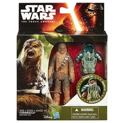 "Picture of Star Wars Force Awakens Chewbaca 3.75"" Action Figure"