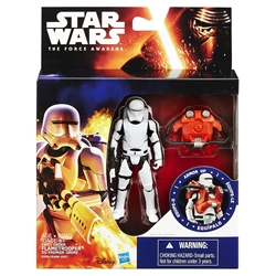 "Picture of Star Wars Force Awakens First Order Flametrooper 3.75"" Action Figure"