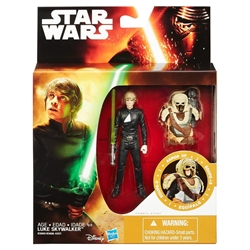 "Picture of Star Wars Force Awakens Luke Skywalker 3.75"" Action Figure"